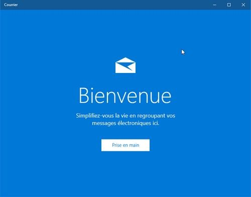 Utilisation de l'application Courrier de Windows 10
