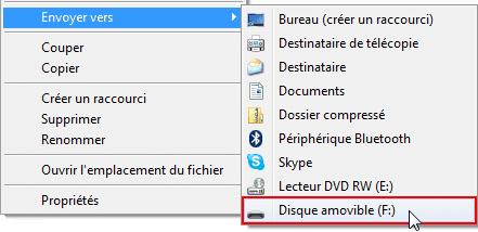 Copier rapidement un fichier informatique