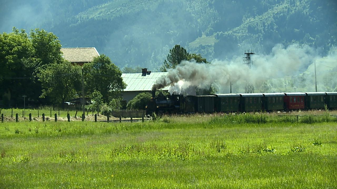 Pinzgauer Lokalbahn Dampflok Mh3