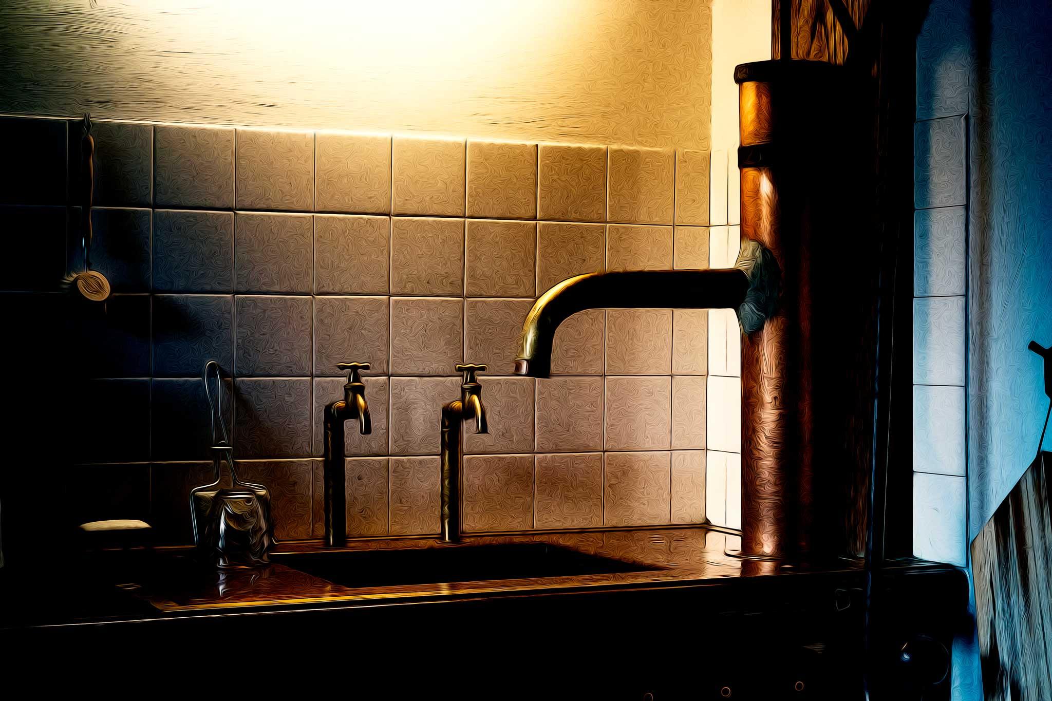 … und was ist das Geheimnis der Kräne und Brunnen?