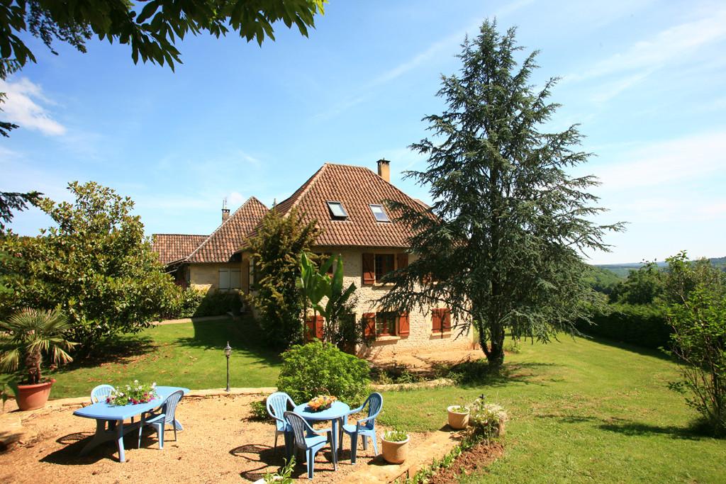 Vue Extérieure - Gite Larnaudie Dordogne Sarlat Périgord Noir