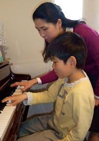 子どものピアノ