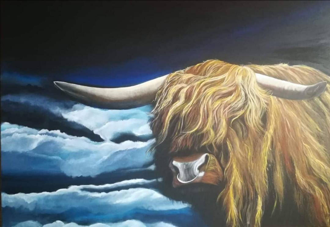 Highland Cattle (verkauft)