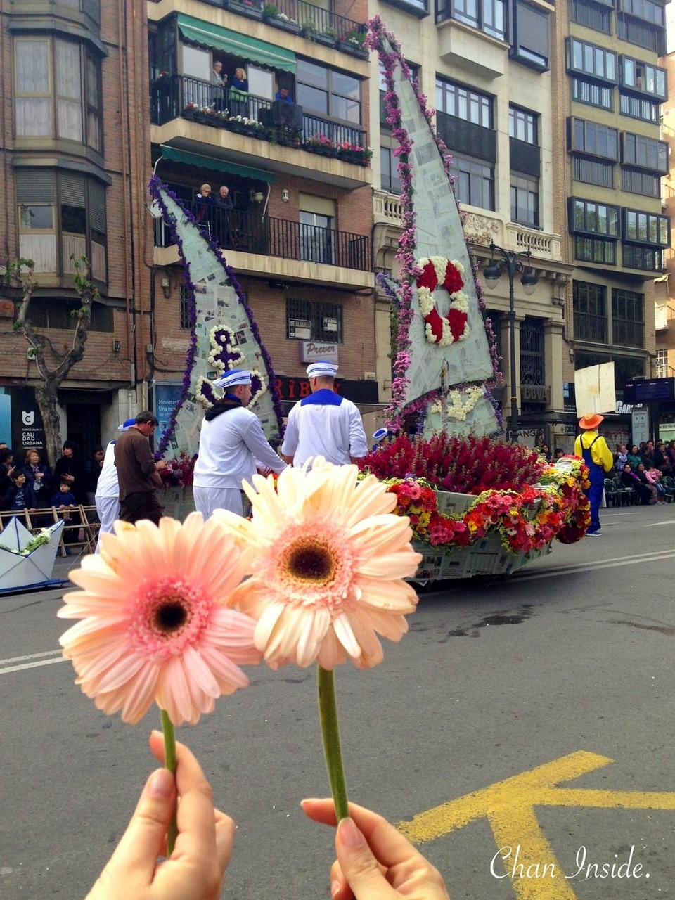 La Batalla de las Flores, Murcia.