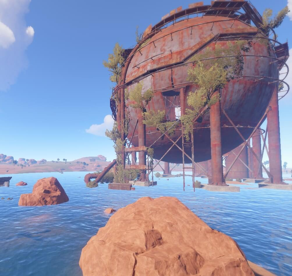 Play Rust | Dome Guide | Climb, Loot and Tricks