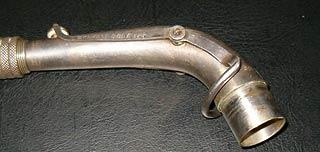 Oktavmechanik mit Spiralfedern bei einem Pierret