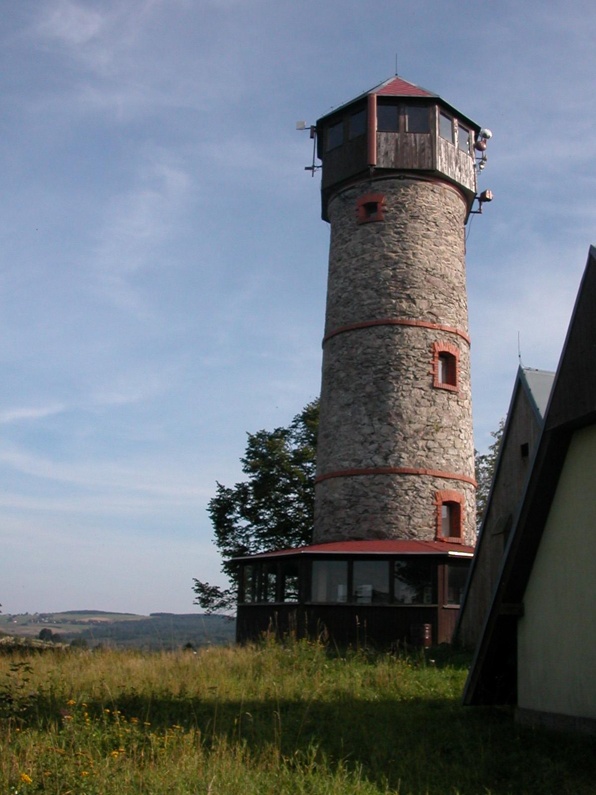 Aussichtsturm bei Hora sv. Kateriny