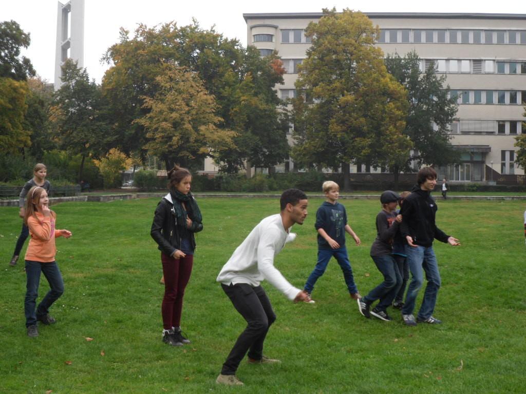 Englisch-Camp im Herbst