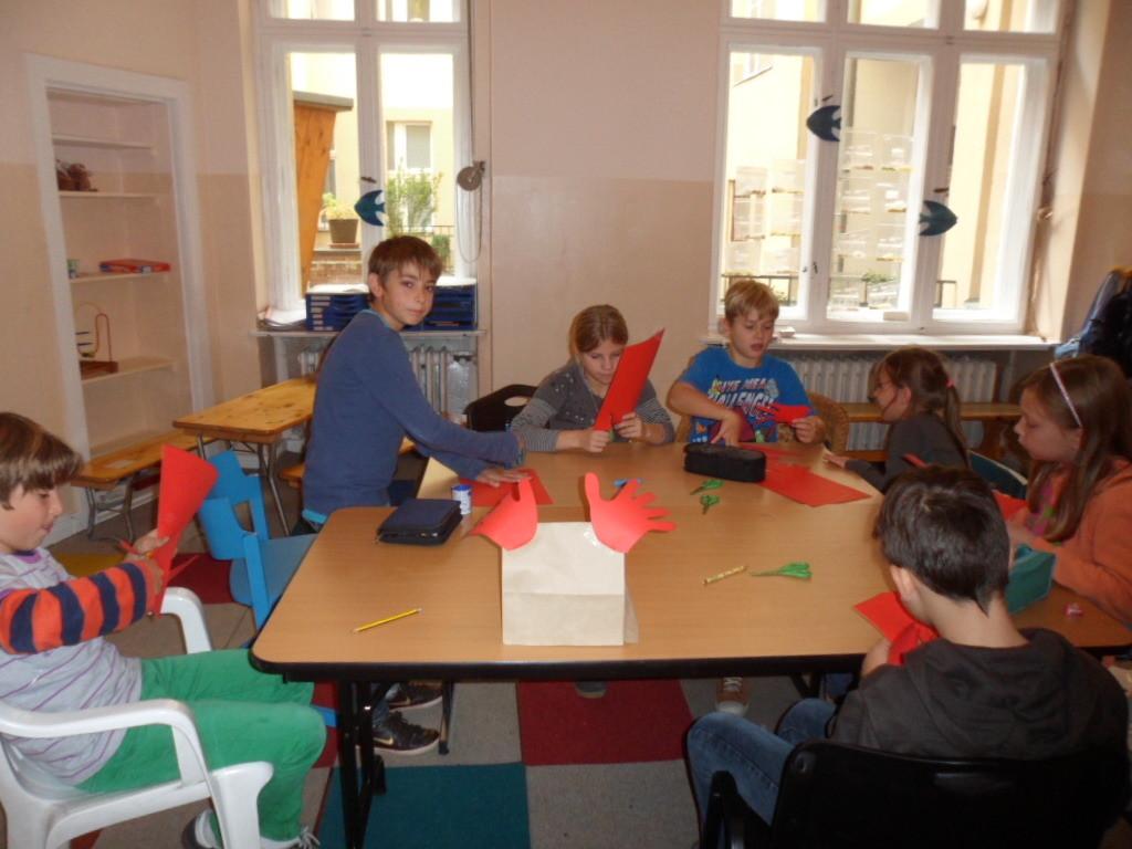 Ferienkurs im Kindersprachclub Wilmersdorf