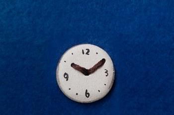 時計ボタン