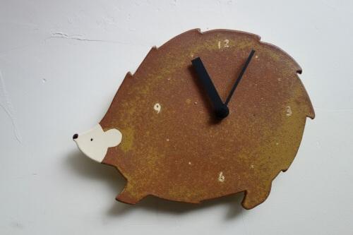 ハリネズミ時計
