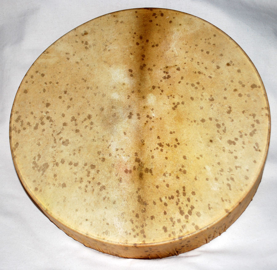 Tamburo chiazzato con intreccio a 6 braccia (45 cm)