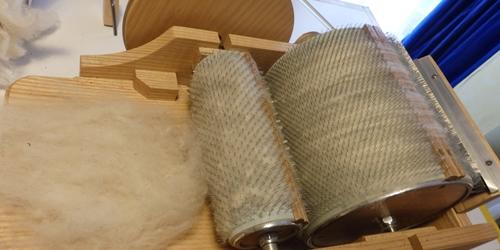 cardage pour aligner les fibres