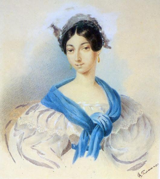 Мать Пушкина, Надежда Иосифовна