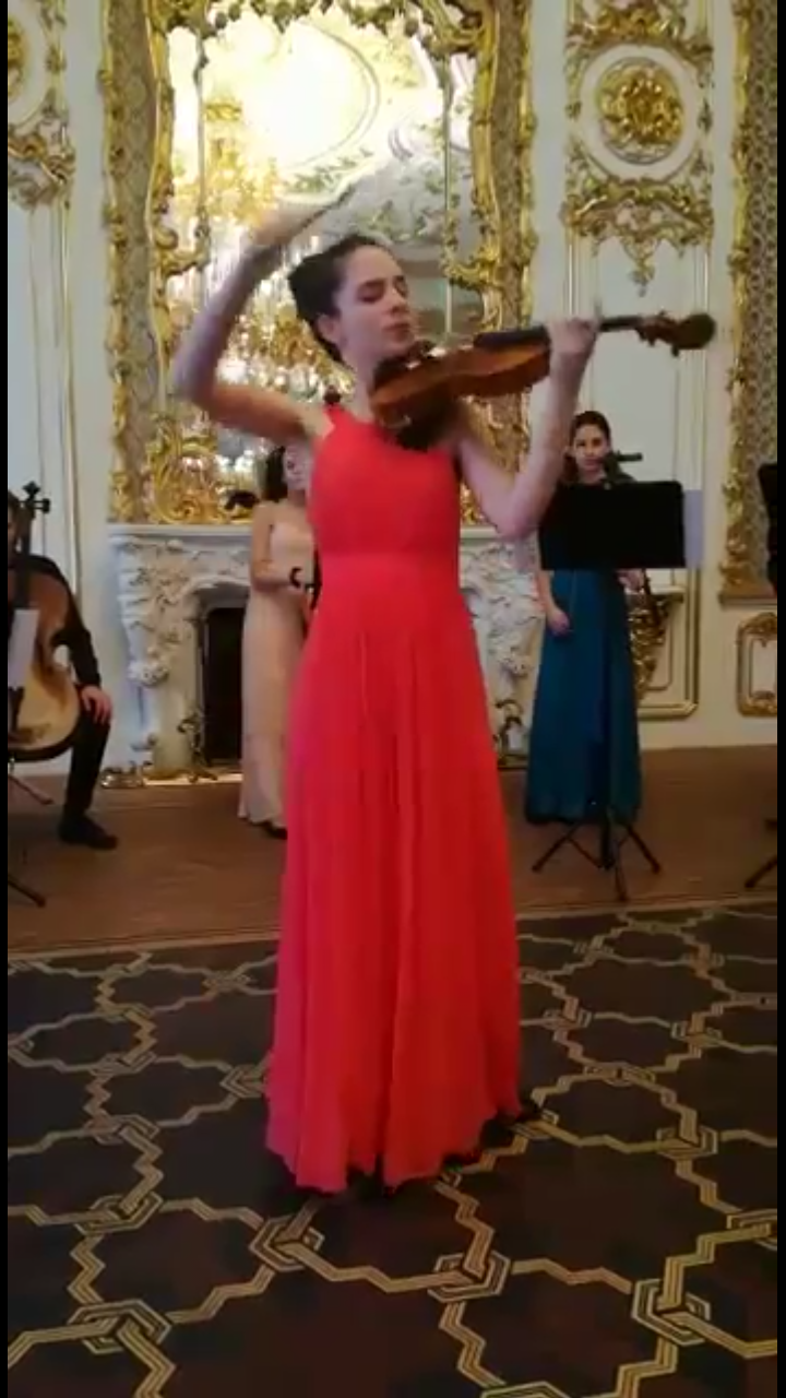 LGT Young Soloists-Palazzo Lichtestein Vienna, Soloist Gaia Trionfera
