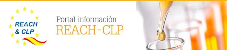 Enlace a la web en español sobre el REACH y el CLP. Gobierno de España