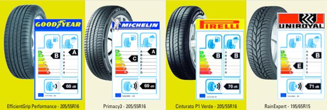 Información de los más vendidos: consumo de combustible, frenada en mojado y nivel de ruido