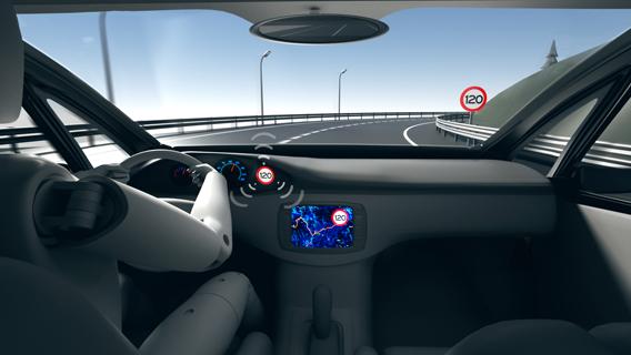Asistente de velocidad inteligente. Euro NCAP