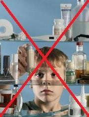 Las medicinas deben estar fuera del alcande de los niños