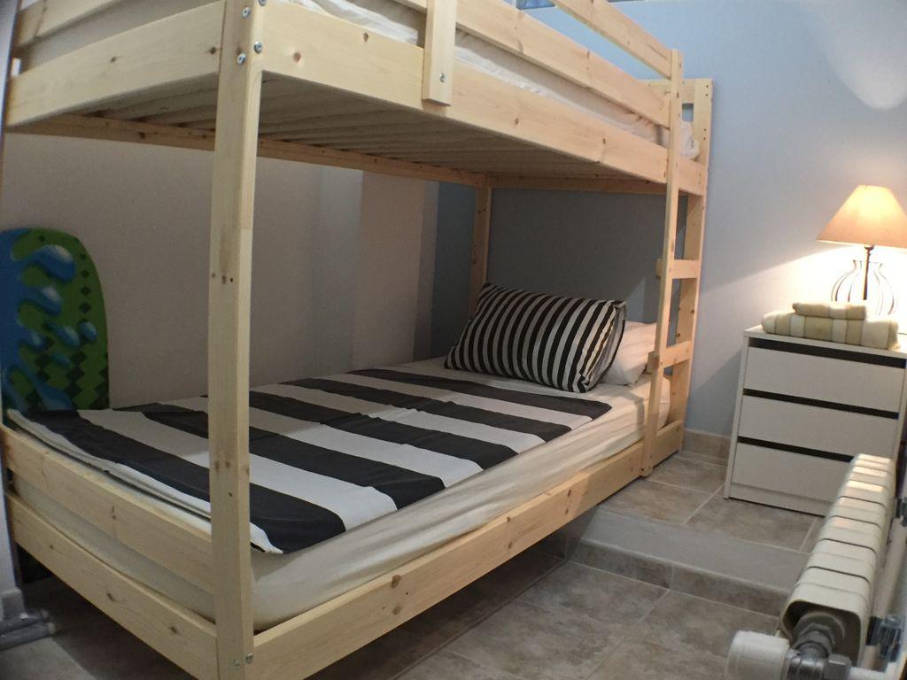 Schlafzimmer 3 mit Etagenbett 90x200