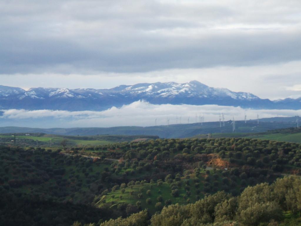 Parco nazionale del Pollino visto da Macchia
