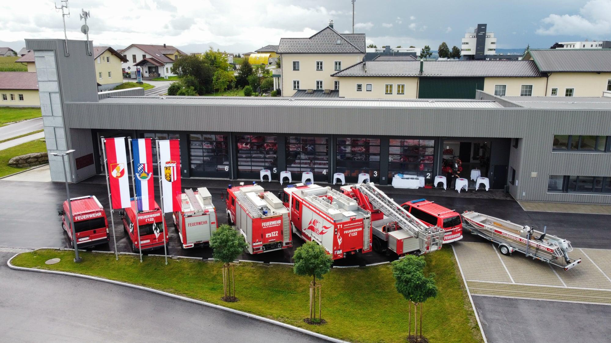 Eröffnung des Feuerwehrhauses