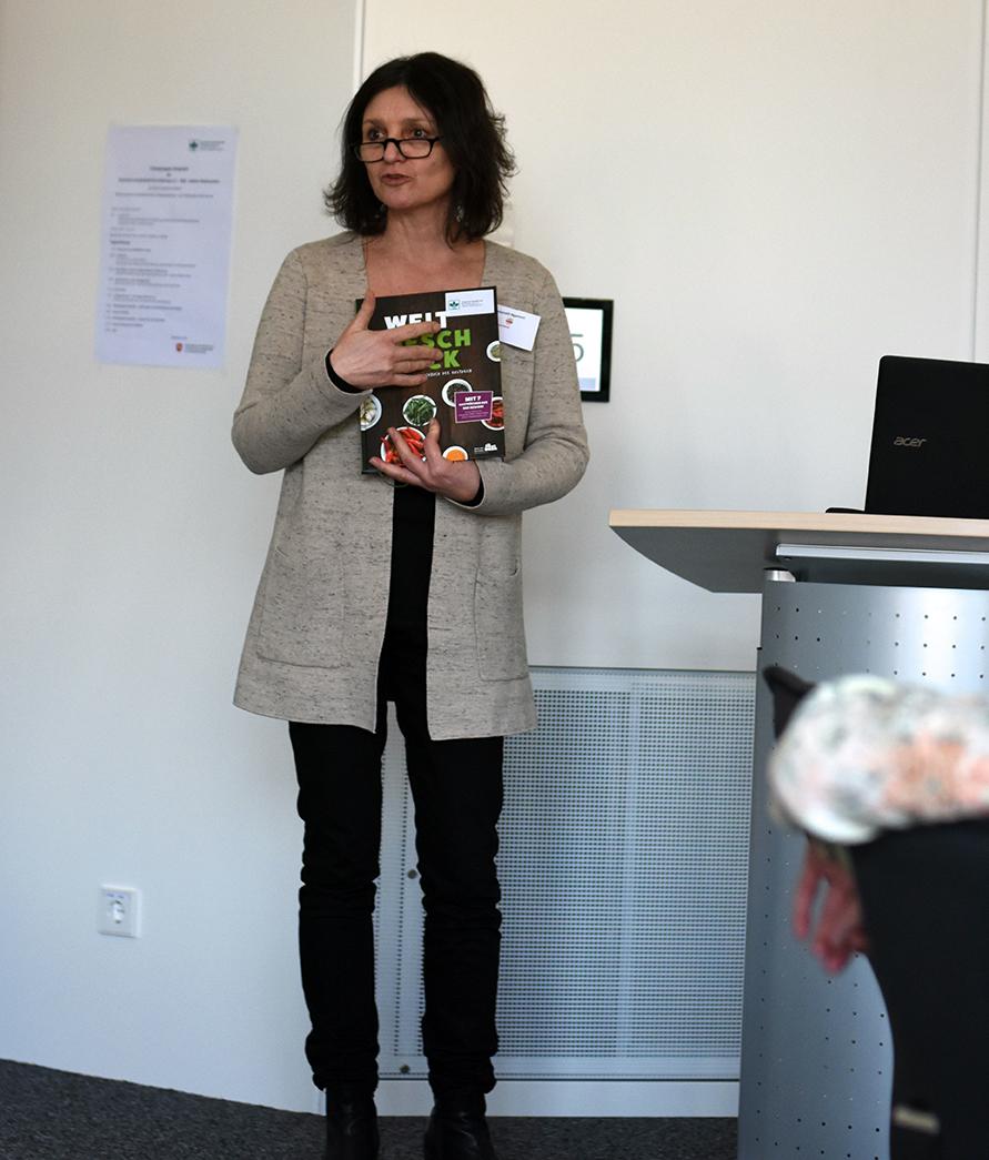 "Cristina Antonelli-Ngameni stellt das Buch ""Weltgeschmack"" vor"