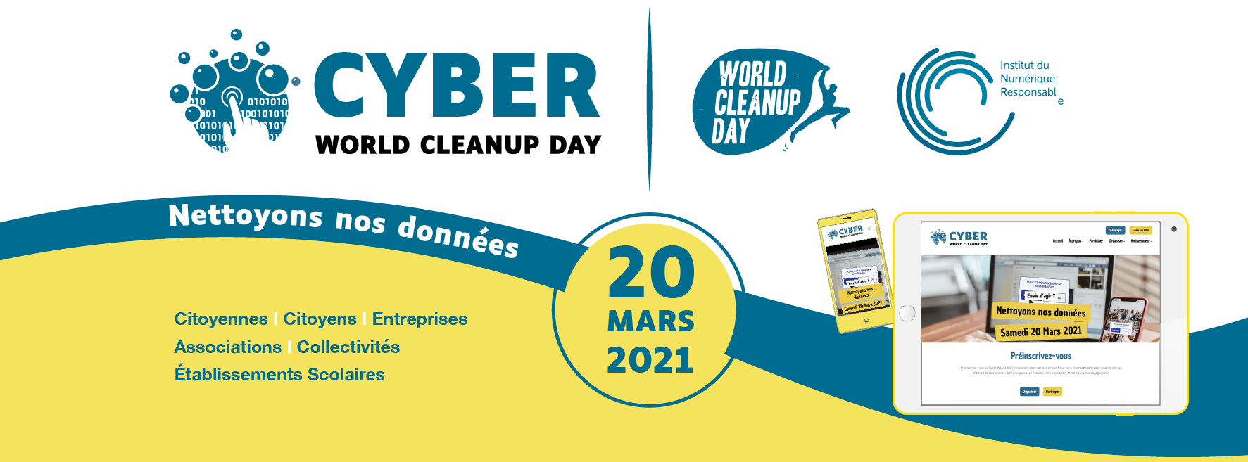 Evènement : Cyber World CleanUp Day !