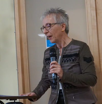 Unsere Referentin: Dr. Cornelia Östreich