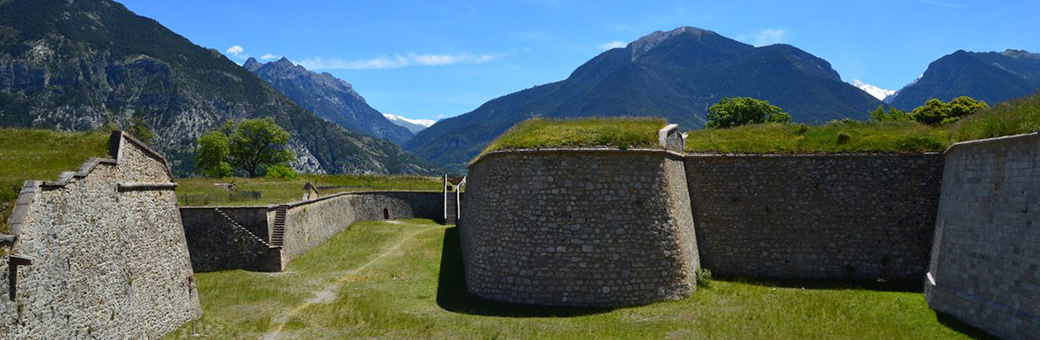 Fort Vauban à Mont-Dauphin