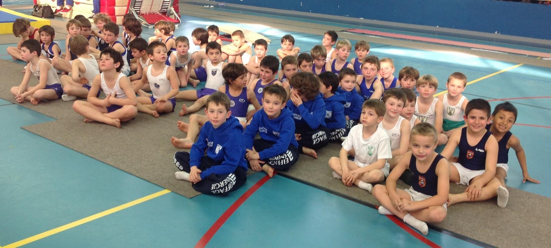 Plateau gyms Jeunes Poussins