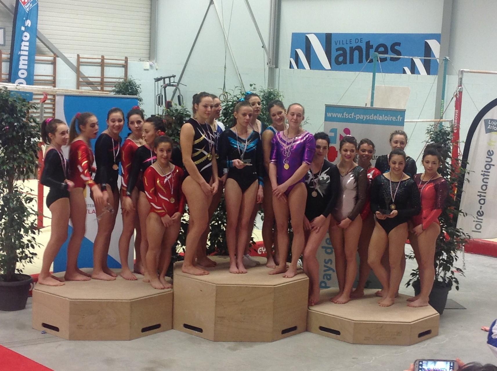Equipe de Ligue Sénior Féminine: 3ème la Ligue d'Aquitaine