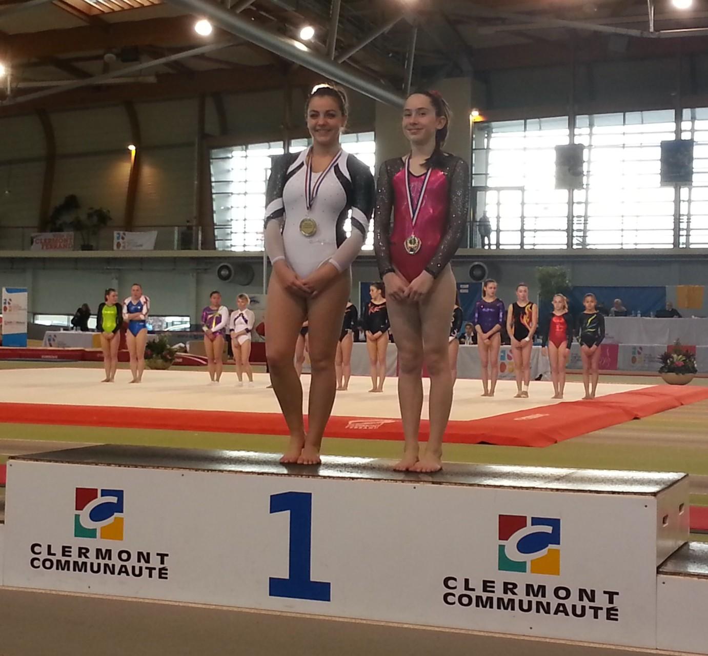 Podium Finales Table de saut Féminine Espoir: 1ère Envolée de Dax