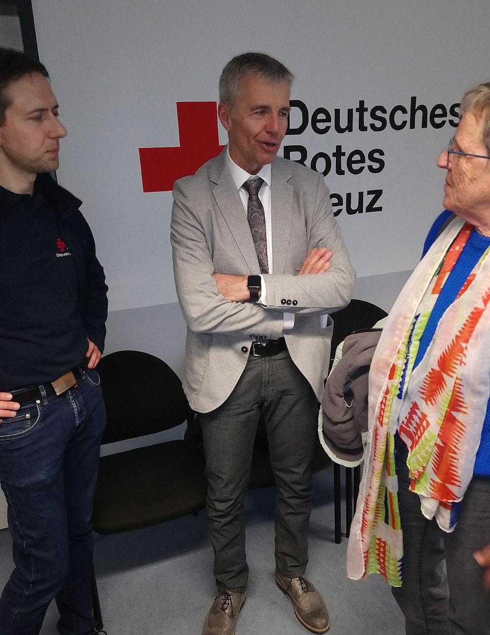 David Korte und Dr. Joachim Quendt beantworten viele Nachfragen