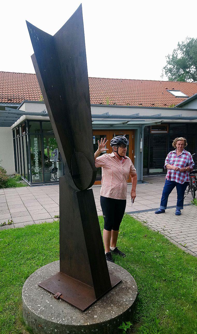 """""""Parabelkopf"""" von Ingrid Dahn"""