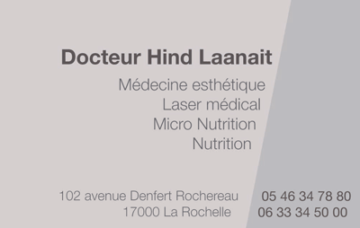 Carte pour un médecin spécialiste