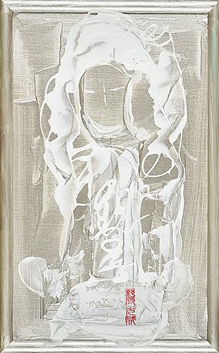 女神様63 Goddess 63, 2010 48.2 x 30.1 cm Acrylic on canvas
