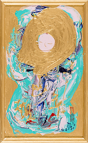 女神様61 Goddess 61, 2010 48.2 x 30.1 cm Acrylic on canvas