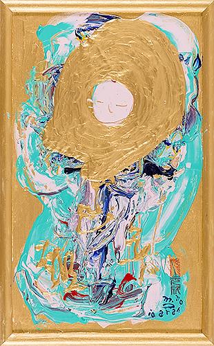 女神様61 Goddess 61, 2010 48.2 x 30.1 cm Acrylic on canvas