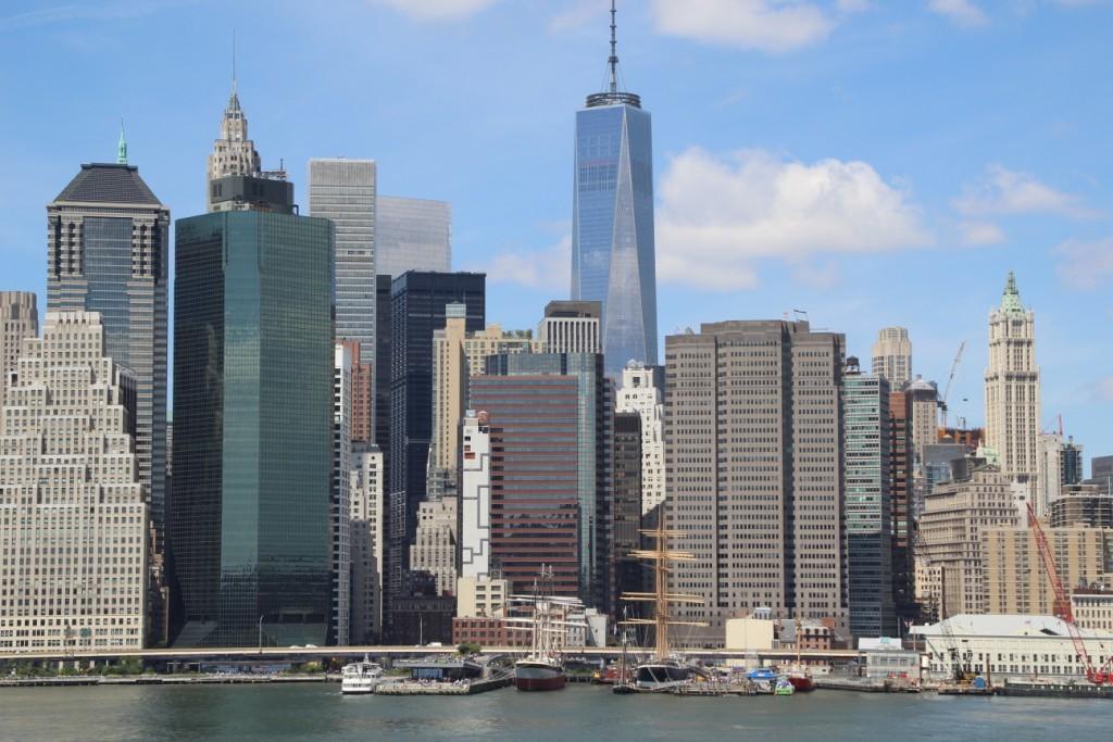 Manhattan vu depuis Brooklyn
