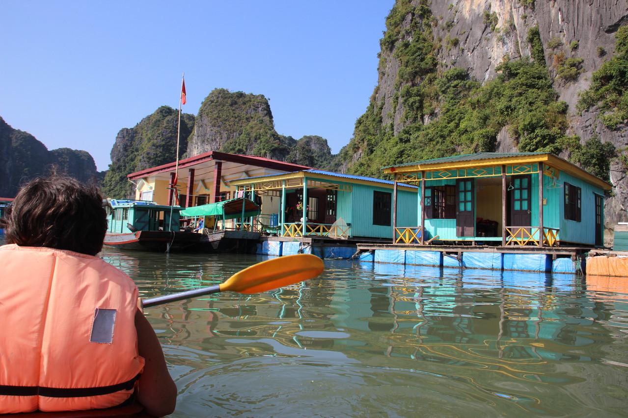 Ecole flottante