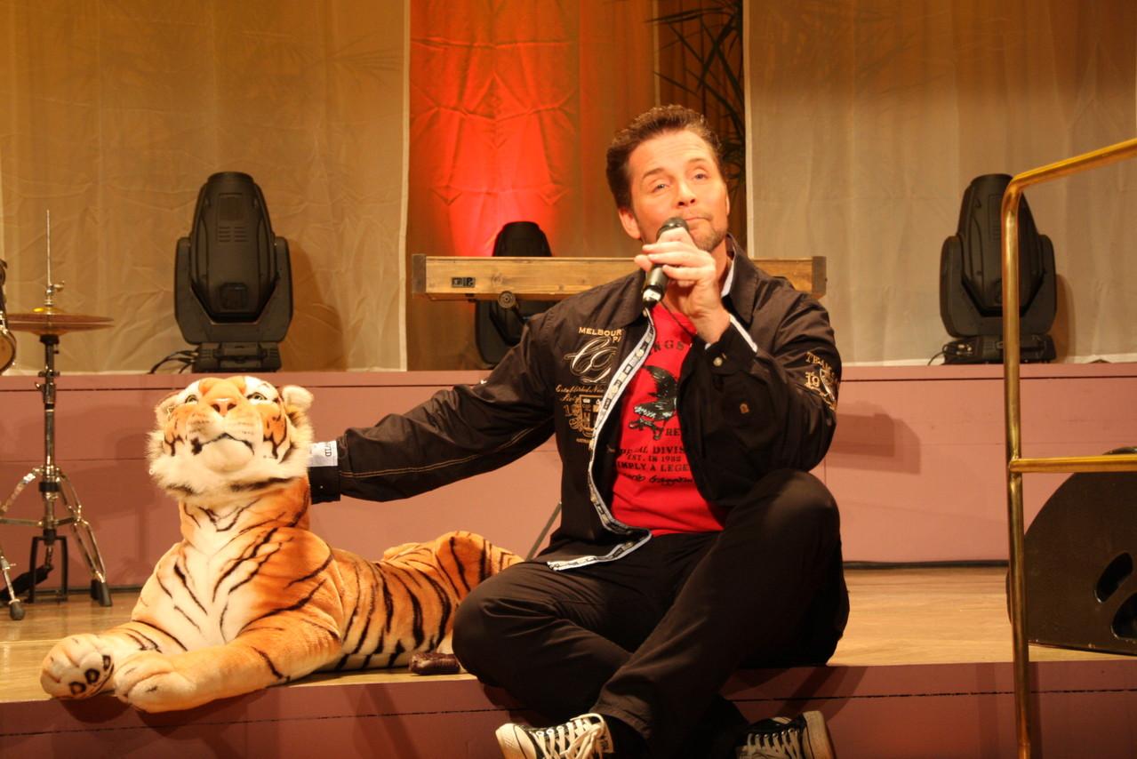 dem Tiger gefällt's...