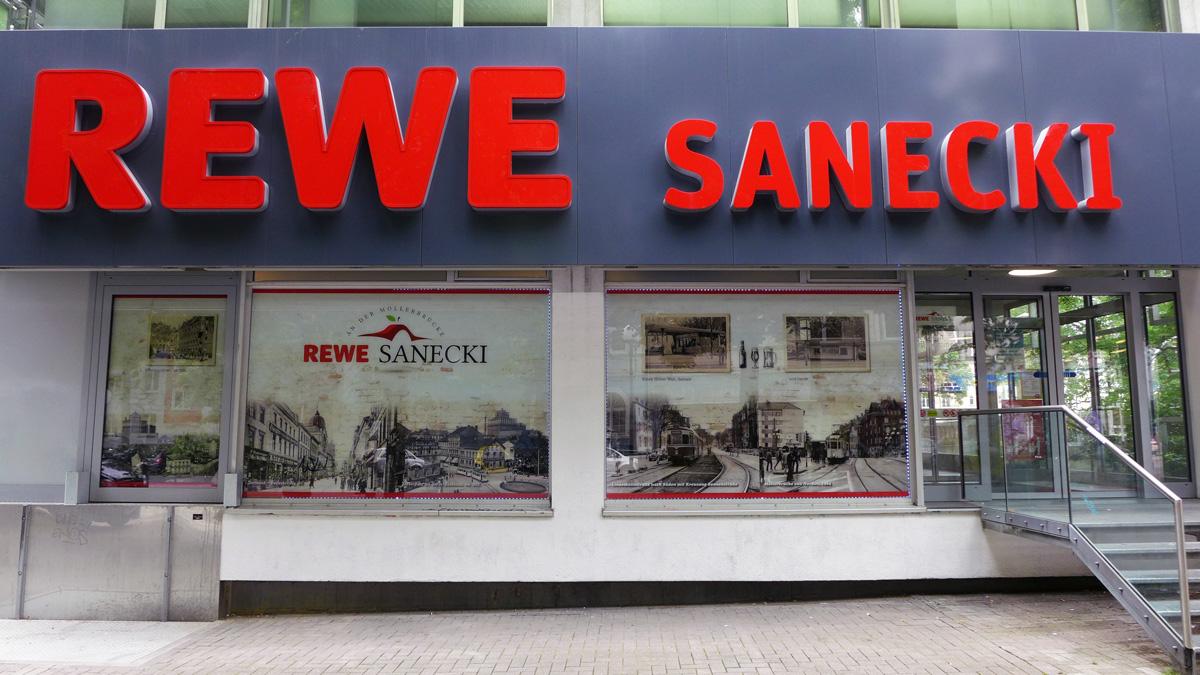 Schöner einkaufen – REWE-Markt in Dortmund