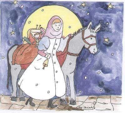 S. Lucia vien di notte .......