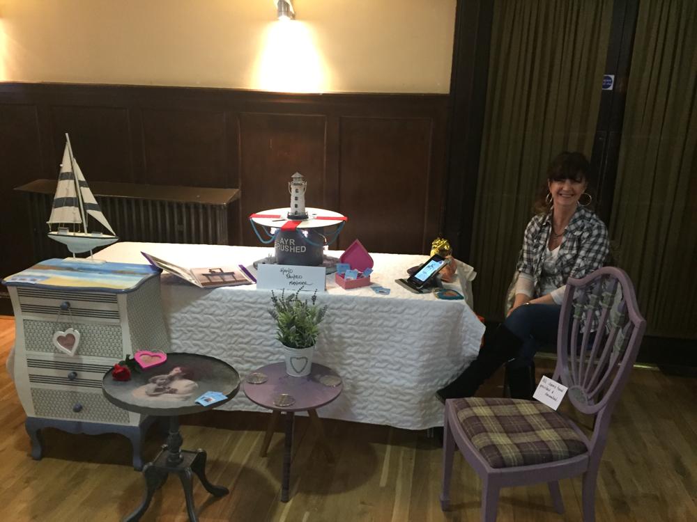 At the Ayrshire Arts and Crafts Fair
