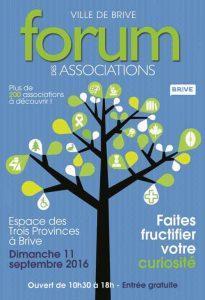 Forum des Associations / Espace des 3 Provinces / 19 Malemort : ony est... tous les ans...
