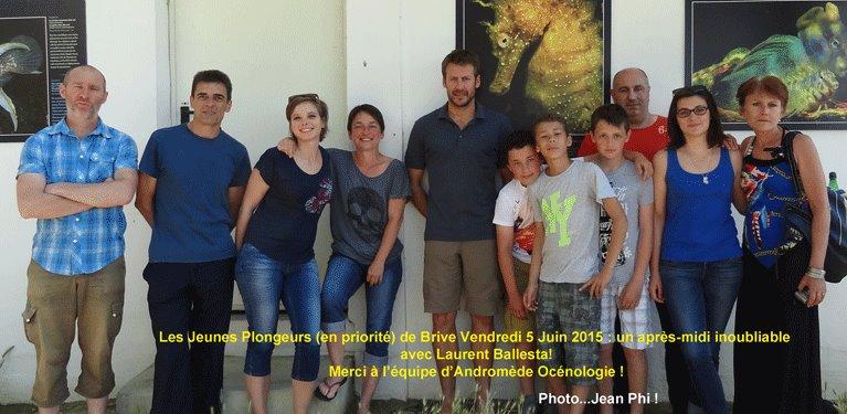 """Sortie """"Bio"""" avec Laurent Ballesta... Pour les Jeunes !! (Organisation : Cécile IMBERT)"""