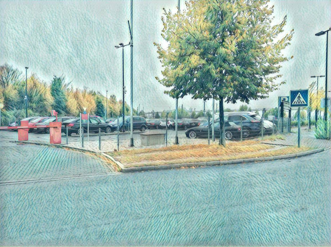 P600 Parkplatz Flughafen Eindhoven