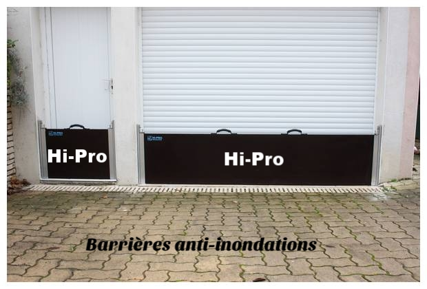 Batardeau anti inondations hydroprotect france - Porte de garage anti inondation ...