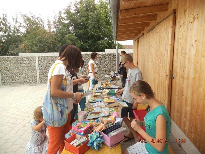 Flohmarkt im Kindergarten